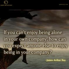 Do you enjoy your own company? #LifeUnleashed  http://www.jamesray.com/whos-your-best-friend/