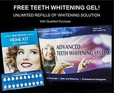 Advanced Teeth Whitening Kit with Unlimited Free Refills – Best Teeth Whitening at Home – Order Now… Review