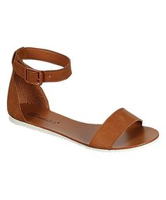 Another great find on #zulily! Tan Joy Sandal #zulilyfinds