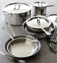 Learn how cook and season a stainless steel pan to create a non stick surface.