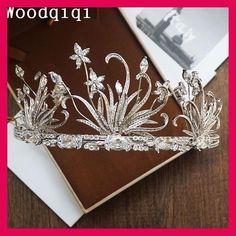 Woodqiqi wedding hair tiara head piece headbands jewelry peinetas y accesorios para peinados tocados de novia vintage