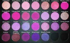 Coastal scents--Good choices for pinks/purples