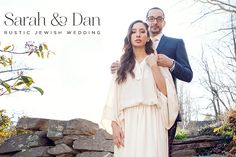 Sarah and Dan | Rustic Jewish wedding held at their own farmhouse in Connecticut, USA