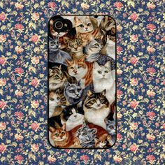 cat animal kitchen cat for iPhone 4, iPhone 4s, iPhone 5 /5s/5c, Samsung Galaxy S3, Samsung Galaxy S4 Case