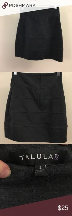 9010e0d154 Mulberry Bags Totes. See more. Aritzia Skirt Talula Sz 2   X Small  Beautiful Aritzia Dark Grey Pencil Skirt