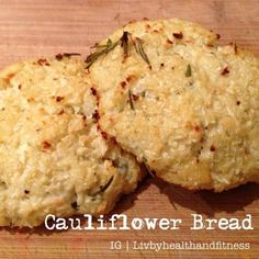 Ripped Recipes - Cauliflower Burger Buns - Trying something new with my cauliflower and these were delicious!  I will definitely try them again next time I am making steak sandwiches, they would make perfect burger buns