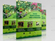 Buy Garden Services Flyer Template by OWPictures on GraphicRiver. Flyer Description: Garden Services Flyer Template was designed for exclusively corporate and small scale companies. Lawn And Garden, Flyer Template, High Quality Images, Flyer Design, Bing Images, Illustrator, Photoshop, Flyers, Templates
