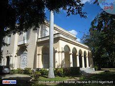 Mansion. Cuban Architecture. The splendor of pre castro Cuba