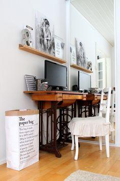 ompelukonepöytä,singer,singer-pöytä,tietokone,tietokonepöytä