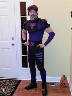 Cool+White+Goodman+Dodgeball+Costume  sc 1 st  Pinterest & Dodgeball Purple Cobras Deluxe Costume - Hollywood and TV costumes ...