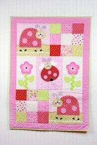 Ladybug Love Quilt Craft Ideas Magazine Spring 2015