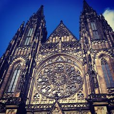 St. Vitas Cathedral at Prague Castle: http://floridagirlindc.blogspot.com/2012/06/hiking-to-prague-castle-and-everything.html