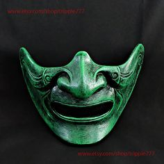 Hey, I found this really awesome Etsy listing at https://www.etsy.com/uk/listing/525868096/half-cover-knight-samurai-mask-airsoft