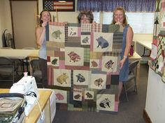 pig quilts | we spent the next hour constructing her entire pig quilt