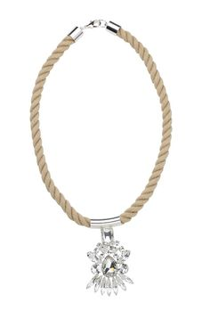 St. Barth Gustavia necklace in natural ($125)