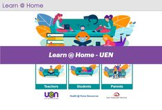 Learn@Home by UEN- Timely information for teachers, students, parents and caregivers to help learning continue beyond face-to-face environments.