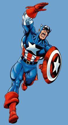 Captain America by George Pérez [CMX:Avengers]