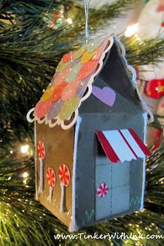 Tinker With Ink & Paper: Xmas Blitz Day 11: Gingerbread Ornament
