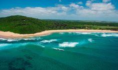 White Pearl Resorts, Ponta Mamoli, Mozambique: good surfing