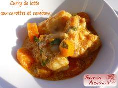 Curry de lotte au combava - SAVEUR PASSION