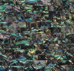 Green Abalone - Brick Pattern