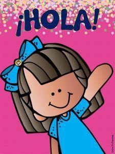 Classroom Freebies, Classroom Decor, Grammar Book, Image Fun, Spanish Language Learning, Binder Covers, Cute Gif, Teacher Gifts, Hello Kitty