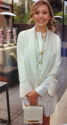 Elizabeth Olsen's style is super cute!