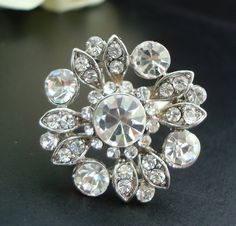 Hey, I found this really awesome Etsy listing at https://www.etsy.com/listing/82772010/bridal-jewelry-vintage-style-flower