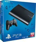 Brand New Sony PlayStation 3 Super Slim 500 GB Black  Video Gaming Console