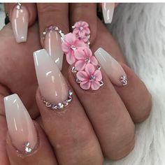 Heat Up Your Life with Some Stunning Summer Nail Art 3d Nail Art, 3d Nails, Love Nails, Pastel Nails, Art 3d, Beautiful Nail Art, Gorgeous Nails, Pretty Nails, 3d Nail Designs