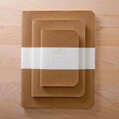 Artisan Gift Idea for Mom: Emgie Libris' journals handmade with attention to detail incorporating archival paper AND recycled, reused products.