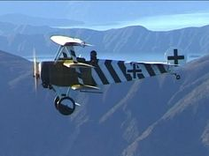 Air-to-air video of a WWI World War One German Fokker Dr.1 Triplane Fighter in the dazzling colours of Ltn Hans Kirschstein in April 1918.  After his death in a flying accident in July 1918, this aircraft was then flown by Ernst Udet, Germanys second highest scoring ace of the First World War after Manfred von Richthofen.    For more info on the Dr.1 see: http://en.wikipedia.or...