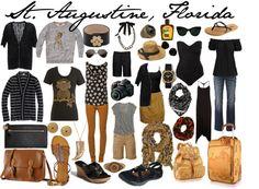 """St. Augustine, Florida vacation wardrobe"" by susanmcu on Polyvore"