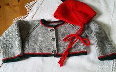 Chaqueta austriaca bebé 6 meses #tricotbymuguete #lana #handmade #babyclothes #tricotbaby #puntobebe #hechoamano #ropabebe #babyclothes #babyknitting
