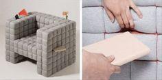 Lost – a creative sofa design