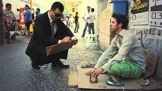 O Poder das palavras - O Cego e o Publicitário!! WWW.MAISTEMPOEDINHEIRO....
