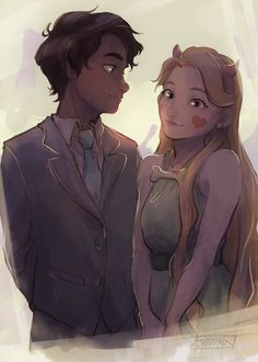 Marco and Star from Star vs the forces of evil Art Sonic, Star E Marco, Starco Comics, Character Art, Character Design, Anime Amor, Star Force, Evil Art, Star Butterfly