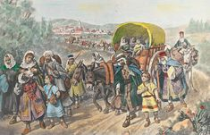 March 1492 - Jews Expelled from Spain. This day in Christian History Israel Today, Ap Spanish, Jewish History, Family History, Ap Art, Persecution, Moorish, North Africa, Historical Photos