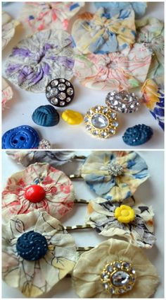 DIY Anthropologie inspired hair pin tutorials – 32 Brilliant DIY Anthropologie Knockoffs
