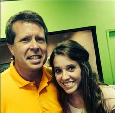 Jill and Jim Bob on Father's Day! #19kidsandcounting