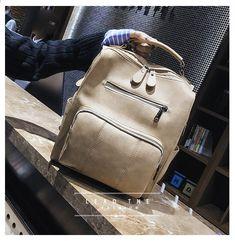 e6b6c01dd45e Женские рюкзаки Кожаные плечевые сумки для путешествий Большой школьный  рюкзак для девочек Модный Daypack Женский большой