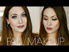 CLASSIC FALL MAKEUP TUTORIAL | Maquillaje Tonos Marrones para OTOÑO | Lizy P - YouTube