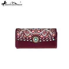 MW485-W002 Montana West Concho Collection Wallet