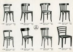 Thonet chairs - For The Love of Chairs - Print Magazine
