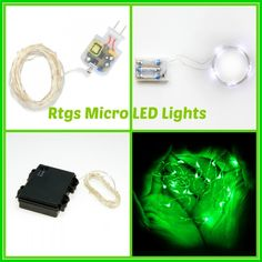 Micro led string lights Review and Giveaway #RtgsProducts - The Stuff of Success Exp 7/6