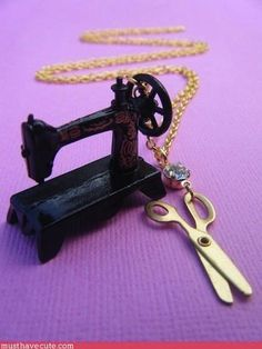 A Stitch in Time Necklace