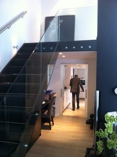 Glass Railings, Building A House, Glass, Home, Drinkware, House, Corning Glass, Homes, Haus