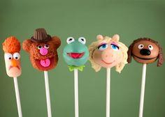 muppet cake pops