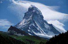 The Matterhorn as seen from Zermatt, Switzerland Zermatt, Holland, Switzerland Tourism, Regions Of Europe, Adventure Is Out There, Luxury Travel, Colorado, Beautiful Places, Mountains