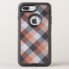 Retro pattern OtterBox defender iPhone 8 plus/7 plus case - retro gifts style cyo diy special idea